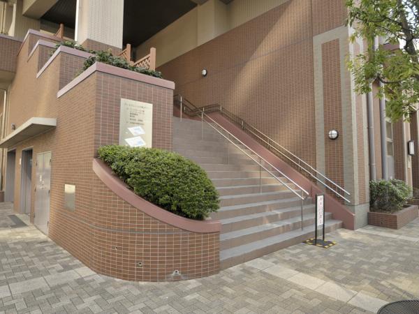 ヴィルクレール川崎タワー 敷地内