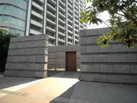 東京ツインパークス マンション敷地入口