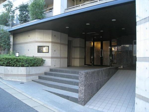 グレースヒルズ生田 エントランス