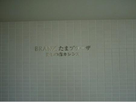 ブランズたまプラーザ美しの森カレンス マンション表札