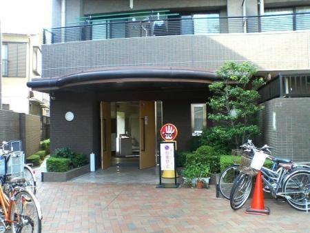コスモ南行徳ガーデンフォルム エントランス