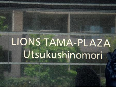 ライオンズたまプラーザ美しの森 マンション表札