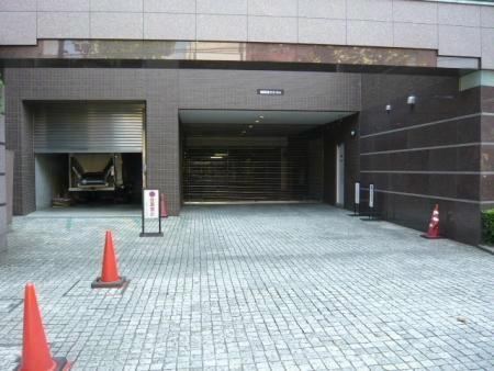 落合ハイム 駐車場