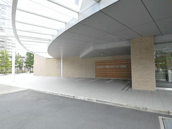 ソルクレスト川口ザ・タワー エントランス