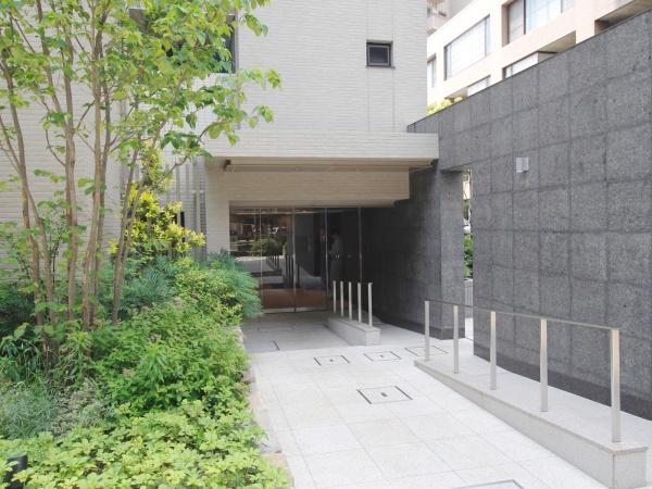 オープンレジデンシア池尻大橋 エントランス