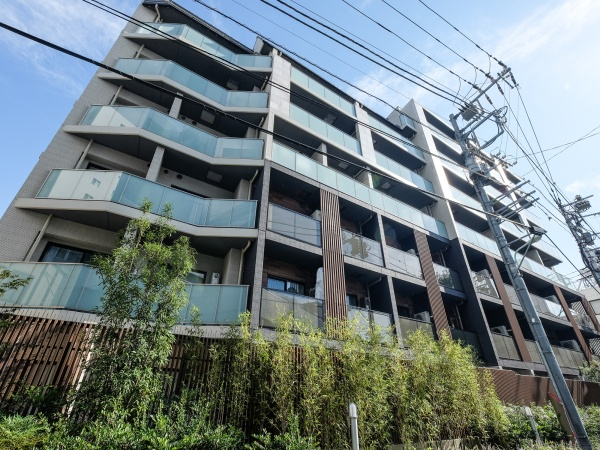 パークリュクス渋谷西原 外観