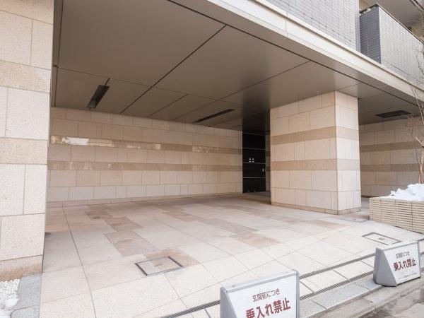 グランスイート高田馬場ザ・レジデンス エントランス