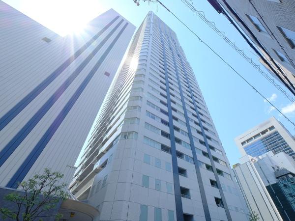 D'グラフォート大阪N.Y.タワーHIGOBASHI 外観