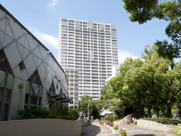 グランドメゾン京町堀タワー 外観
