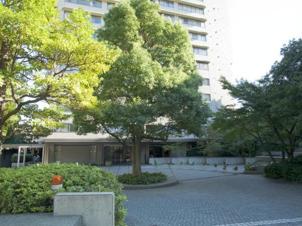 小石川パークタワー 敷地内