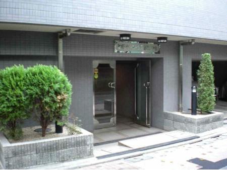 クレッセント目黒青葉台 エントランス
