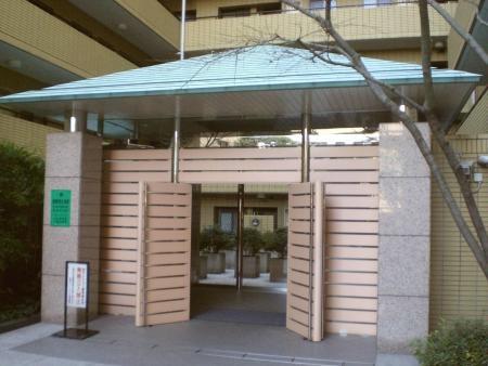 赤坂アパートメント エントランス