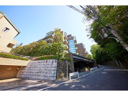 東急ドエル・プレステージ赤坂氷川町 外観