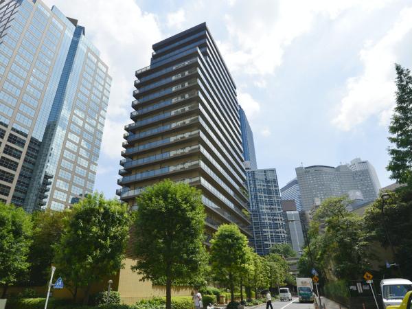 西新宿パークサイドタワー 外観