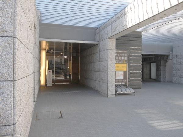 シティハウス神宮北参道 エントランス