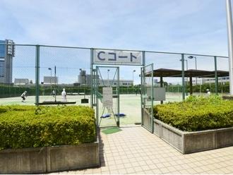 芝浦中央公園運動場テニスコート