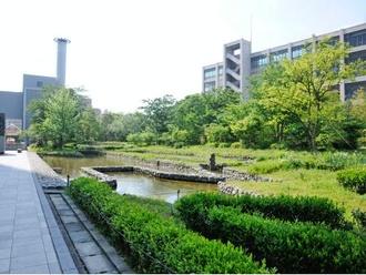 新梅田スカイビル内「中自然の森」